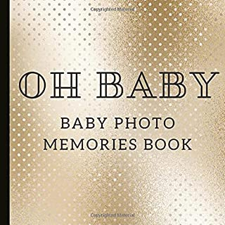 Baby Photo Memories Book: Baby Shower Photo Guest Book, Can Be Used For Messages, Photos Even drawings. A Beautiful Keepsake