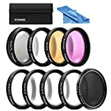 Polaroid Optics Premium Filter Kit : 67mm HD Multi-Coated Variable Range Neutral...