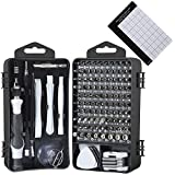 E·Durable Precision Screwdriver Set, 122 in 1 Computer Repair Tool kit with Case for Eyeglasses Watch iPhone Nintendo Switch Camera Electronic Screwdriver Kit