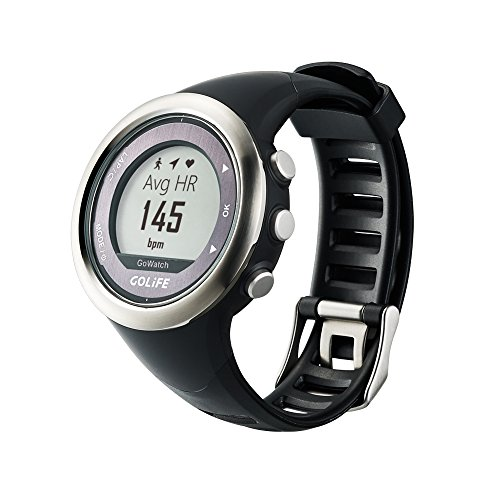 Waterproof GPS Watch Outdoor Smart Sport Golife 820i Watch both for Men and Women Triathlon Running Swimming Hiking Cycling (Silver)