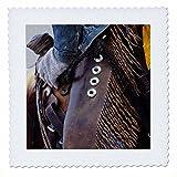 3dRose qs_97374_1 Cowboys Riding Gear in Shell,