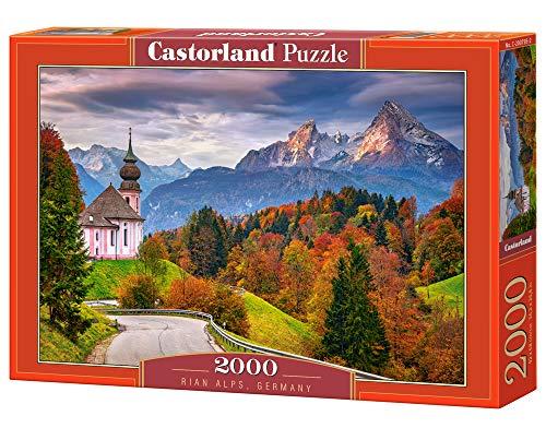 Castorland 200795 Herbst in den bayerischen Alpen, Deutschland, 2000 Stück Puzzle