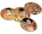 Untersetzer für Gläser 'Gustav Klimt', aus Kork