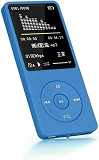 Yeefant 70 Hours Playback MP3 MP4 Lossless Sound Music Player FM Recorder TF Card Up to 128GB