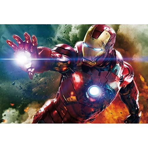 NO BRAND Puzzle Rompecabezas de Madera Boy Puzzle Creativo Regalo de Iron Man Puzzle -500/1000/1500 Pieza for Adultos descompresión niños (Size : 1000 Pieces)