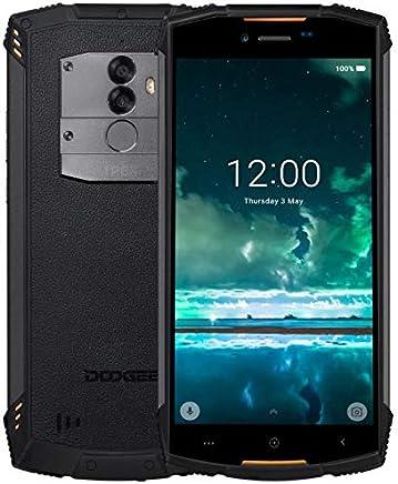 DOOGEE S55 Lite - 5.5 Pulgadas (relación 18: 9) Android 8.1 Smartphone al Aire Libre, IP68 Impermeable Antipolvo, Carga rápida de la batería 5500mAh, Ouad Core 2GB + 16GB - Naranja
