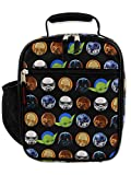 Star Wars Boy's Girl's Adult's Soft Insulated School Lunch Box (One Size, Black)