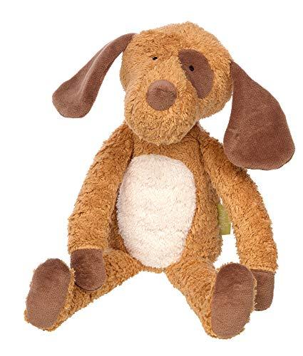 Sigikid Mädchen und Jungen, Kuscheltier Hund Green Collection, Stofftier, empfohlen ab 0 Monaten, braun/weiß, 39334