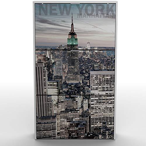 Miroytengo Armario Zapatero 3 Puertas abatibles Color Blanco Manhattan Pasillo Entrada recibidor Mueble 117x60x24cm