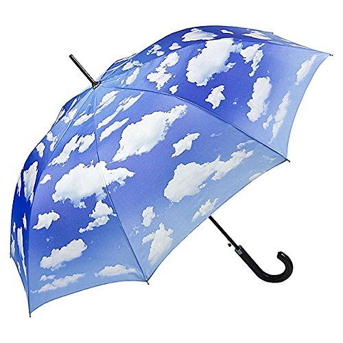 VON LILIENFELD Regenschirm Automatik Damen Herren Wolken Motiv Bayrischer Himmel