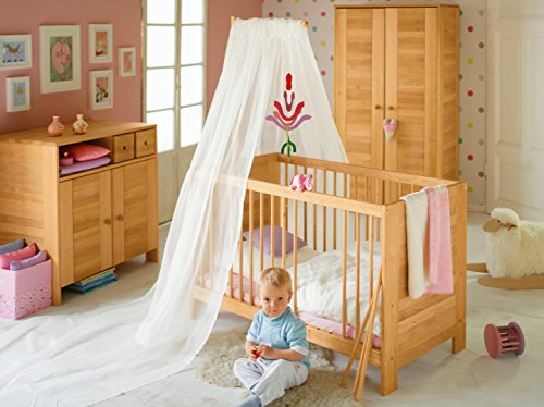 BioKinder 23357 Niklas Spar-Set Babyzimmer aus Massivholz Erle