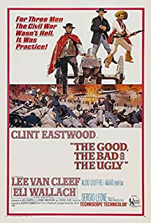 The Good, The Bad and The Ugly POSTER Movie (27 x 40 Inches - 69cm x 102cm) (1966)