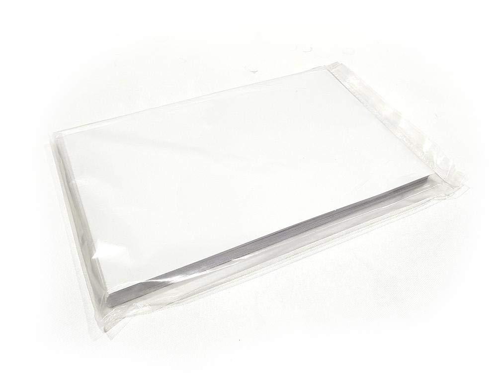 ورقة طباعة شفافة لاصقة ورق شفاف نافث للحبر للملصقات والصور حجم A4 عدد 50 ورقة Amazon Ae