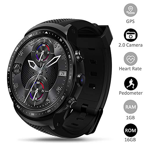 Find Discount JASZW 3G Smart Watch for Men -1.53inch Touch Display/RAM 1GB+ROM 16GB Android 5.1 GPS ...
