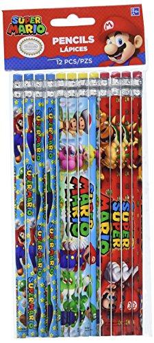 Super Mario Brothers Pencils, Party Favor