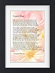 Send This Wonderful Gift For Your Mom On Her 70th Birthday A Heartfelt Poem In Beautiful Font That Is Framed One Of The Best Gifts You Can Give