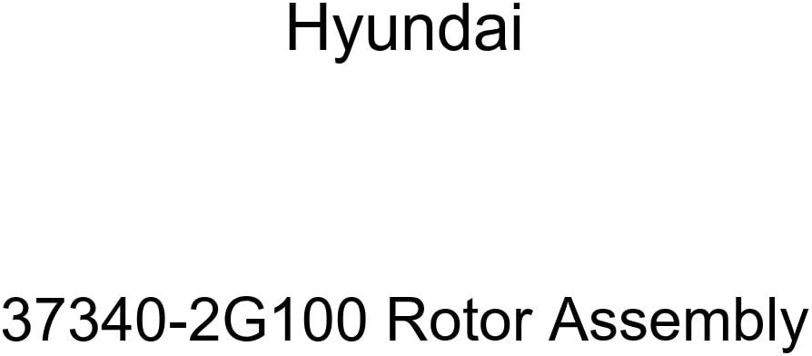 Genuine Hyundai Selling High quality new rankings 37340-2G100 Rotor Assembly