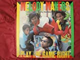Melody Makers featuring Ziggy Marley 'Play The Game Right' 1985 Rare Original EMI America Records ST-17165 Vinyl Lp Record Album PROMOTIONAL Stamp on Front Cover EX