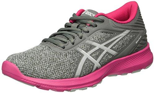 Asics Nitrofuze T6h8n-9601 damskie buty do biegania, szary - Grau Midgrey White Sport Pink - 35.5 EU