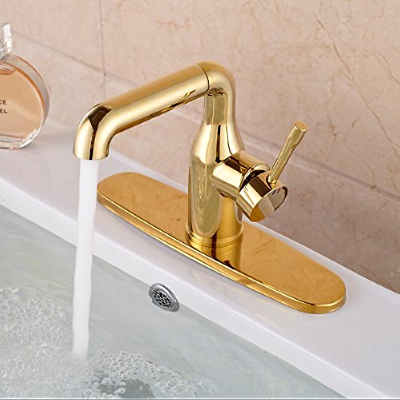 CZOOR Bathroom Sink Mixer Tap New Brass Seven Shaped Vessel Mixer Taps Flexible Swivel Bathroom Countertop Faucet