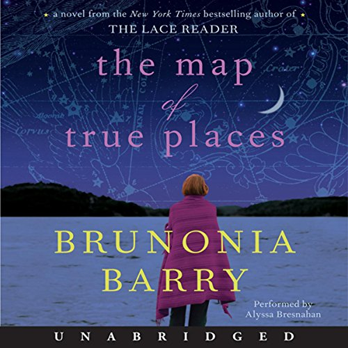 The Map of True Places audiobook cover art