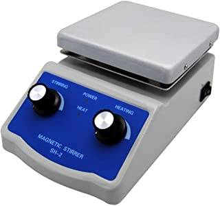 FAITHFUL SH-2 Hot Plate Magnetic Stirrer with Dual Control and 1 Inch Stir Bar C3 - 110V