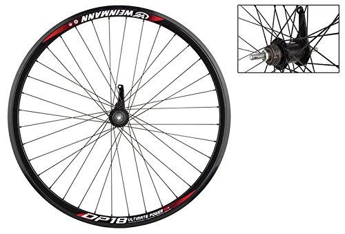 Wheel Master Weinmann DP18 Rear Wheel - 700c, 36H, Coaster Brake, Black NMSW