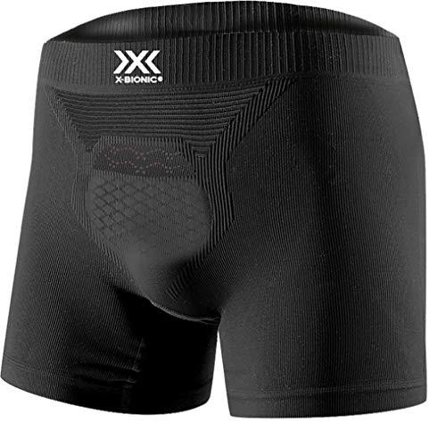 X-Bionic Energizer 4.0 Light Boxer Shorts Men Opal Black//Arctic White XL Uomo