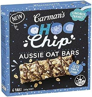 Carman's Carman's Bar Aussie Oats Choc Chip, 180 g