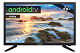 TV LED 24' INFINITON INTV-24 300 Hz Android TV/Smart TV - WiFi - HDR USB HDMI