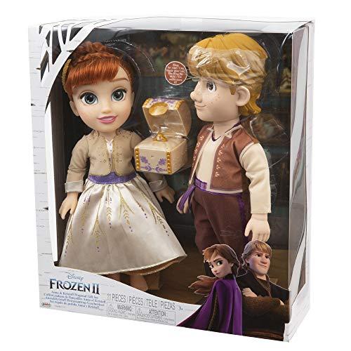 Giochi Preziosi Disney Frozen 2 Anna and Kristoff, con Accessori
