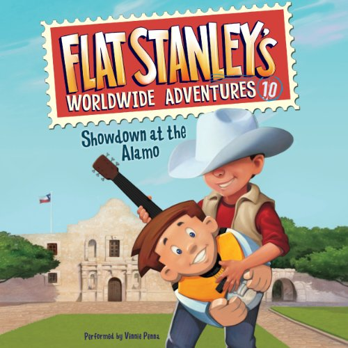 Showdown at the Alamo     Flat Stanley's Worldwide Adventures #10              By:                                                                                                                                 Jeff Brown                               Narrated by:                                                                                                                                 Vinnie Penna                      Length: 46 mins     Not rated yet     Overall 0.0