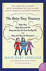 "Betsy-Tacy by Maud Hart Lovelace won my ""Book Oscar"" for best vintage novel!"