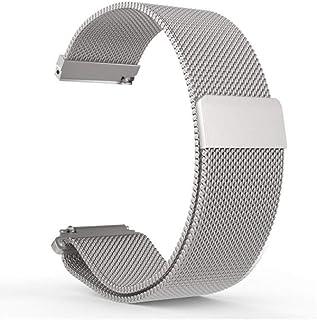 Milanese Loop 22mm for Samsung Gear S3 Frontier, Samsung Gear S3 Classic, Samsung Galaxy Watch 46mm, Stainless Steel Repla...