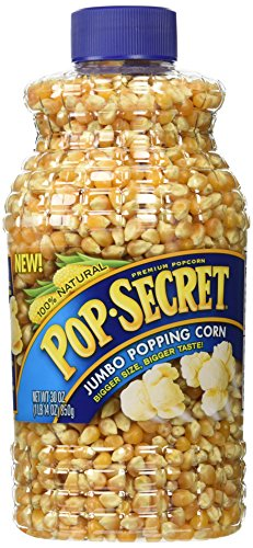 Great Price! Pop Secret Popcorn 100% Natural Premium Jumbo Popping Corn (2 Pack) Large 30 oz Bottles