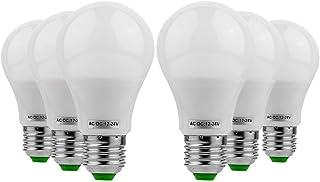 SGJFZD 6PCS E26/E27 LED 5W LED Light Bulb 400-500lm 10LED 5730SMD Globe Bulbs Warm White Cool White AC 12V/DC 12-24V (Colo...