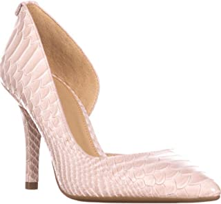 Michael Michael Kors Womens Nathalie Flex Leather Pointed Toe Classic Pumps