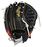 Rawlings Heart of The Hide Fastpitch Softball Glove, 12.5 inch, Left Hand Throw
