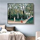 Leinwand Kunst Wände Gemälde 60x90cm ohne Rahmen