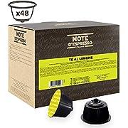 Note D'Espresso Lemon Tea, Kapseln ausschließlich Kompatibel mit Nescafé* und Dolce Gusto* Kapselmaschinen 12g x 48 Kapseln