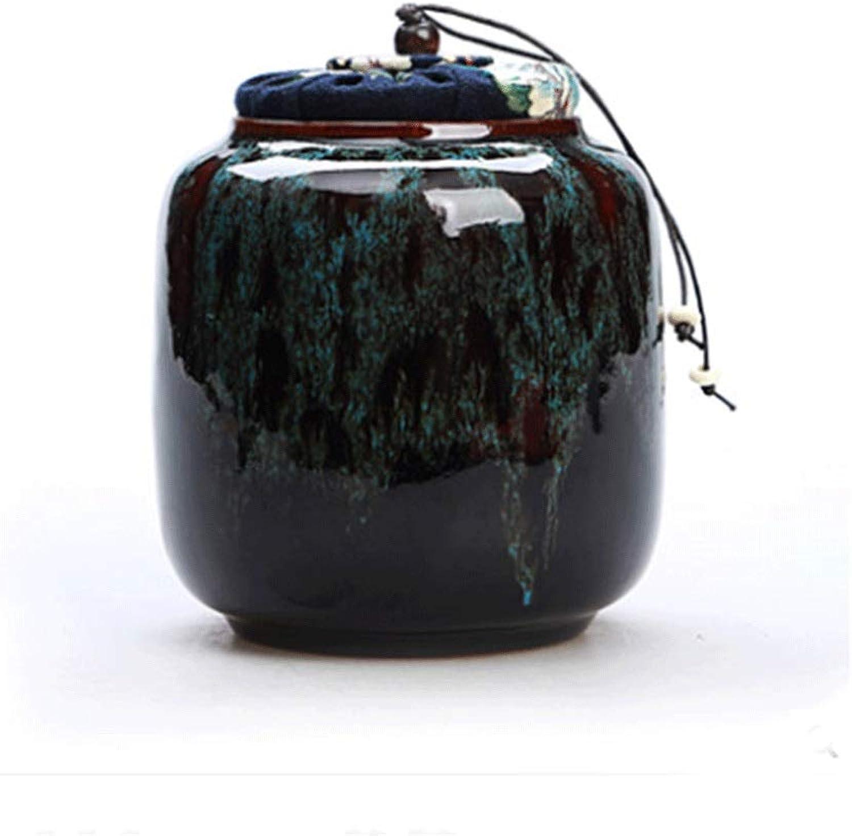 Shengshihuizhong Pet Casket, Pet Urn, Cremation Urns for Pets, Functional Urn, Ceramic Sealed, Moisture Proof, Keepsake Box for Dogs and Cats The Best Gift (color   G)