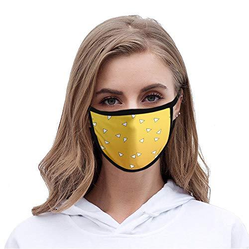 Bayrick Máscara 5pcs a Prueba de Polvo y Smog máscara de impresión Seda de Hielo-L_Código de niño M