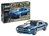 Revell-Revell-07672 modle 1970 Pontiac Firebird-Maqueta de Coche (Escala 1:24, sin lacar) Kit Modelo, Color sin Pintar (07672)