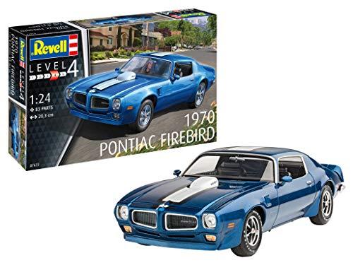Revell-07672 1970 Pontiac Firebird Maquette, 07672, à Peindre
