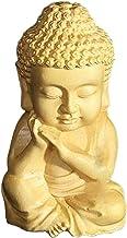 Buddhism Statue Boxwood Carved Sakyamuni Buddha Small Statue Tea Pet Home Decoration