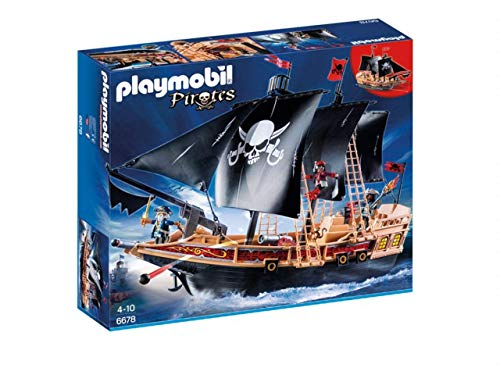 PLAYMOBIL 6678 - Pirates Buque Corsario, Mehrfarbig