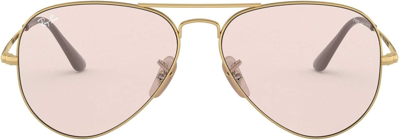Ray-Ban Rb3689 Metal Ii Evolve Photochromic Aviator Sunglasses