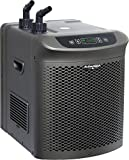 Active Aqua AACH25HP Hydroponic Water Chiller Cooling System, 1/4 HP, Rated BTU per hour: 3,010, User-Friendly,Black