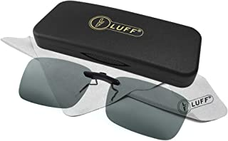 be9acd6a54 Clip polarizado unisex en gafas de sol para anteojos recetados-Buenas gafas  de sol estilo