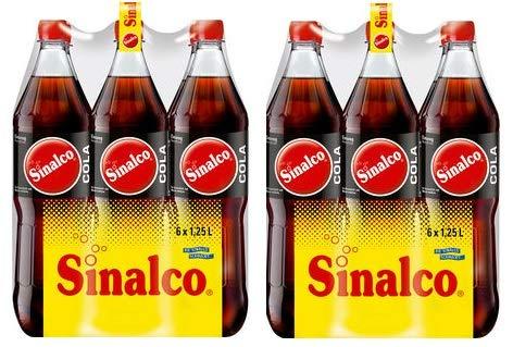 12 Flaschen Sinalco Cola a 1,25 L inc. EINWEG Pfand